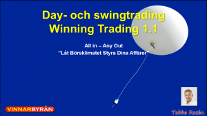 3 day och swingtrading WT